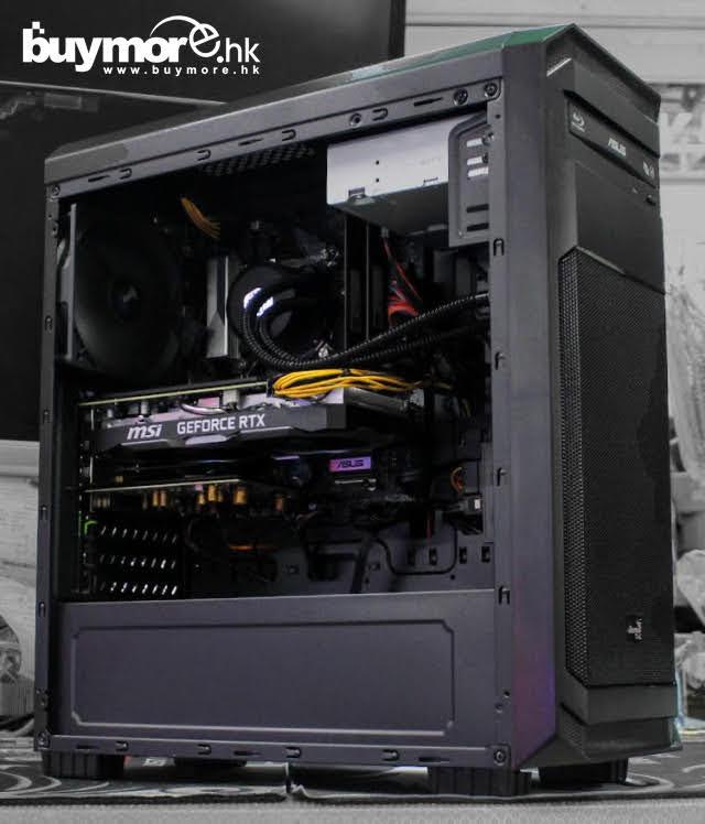 💡【電競組合Whatsapp:69696926網上落單】 Intel Core i5-9400F處理器 ASUS B365M-A主板 Kingston 16G記憶體 HIKVISION 512GB M.2 SSD MSI GeForce RTX2070 8G顯卡 AEROCOOL Aero-300機箱/ANTEC NX550 550W Cooler Master 120一體式水冷