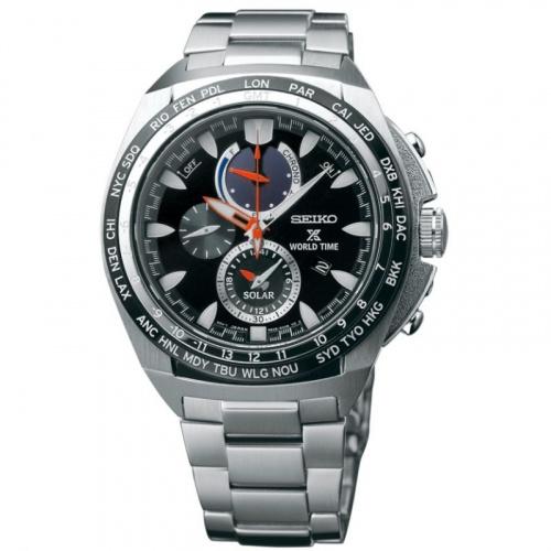 Seiko PROSPEX World Time 太陽能手錶 SSG487P1