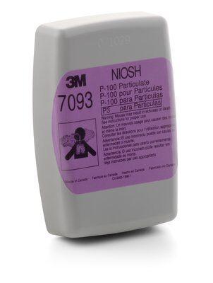 3M 7093 P100 濾棉盒 [2個][防水][對抗武漢肺炎] 勁過 N95 過濾效率可達到99.97%。 認證標準:NIOSH 所有 3M 雙罐式濾罐、濾棉系列皆可與:6000、6500、7000 及 FF-400 系列半面及全面式面體連結使用