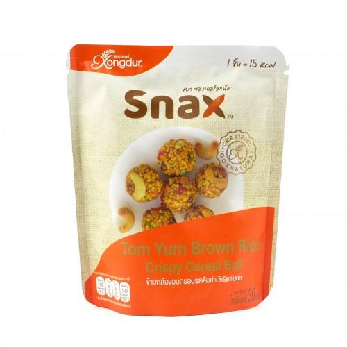 泰國 XONGDUR- Snax冬蔭糙米脆球 (30g)