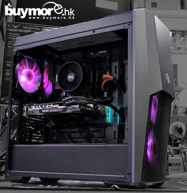 💡【電競組合Whatsapp:69696926網上落單】 AMD Ryzen 5 3600處理器 GIGABYTE B450M GAMING主板 PATRIOT VIPER 16GB 3200Mhz記憶體 ADATA SX6000 256G NVMe SSD Inno3D GTX1660顯卡 Cooler Master MB500機箱/Antec NX550