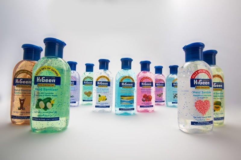 HiGeen 消毒搓手液 110ml *1 (香味隨機) (5支起免運費)