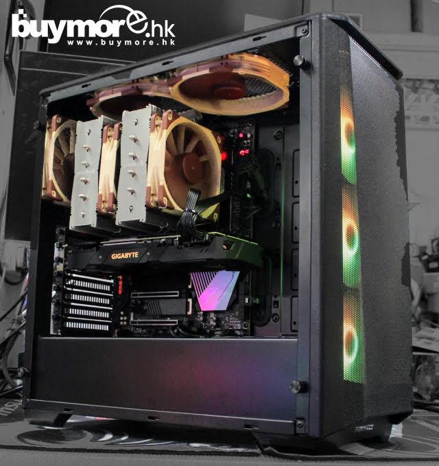 💡【電競組合Whatsapp:69696926網上落單】 AMD Ryzen 9 3900X處理器 GIGABYTE X570 AORUS MASTER主板 CORSAIR VENGEANCE LPX 64GB記憶體 Samsung 970 EVO Plus M.2 1T SSD GIGABYTE RTX2070S SUPER顯卡 Phanteks Eclipse P400A 機