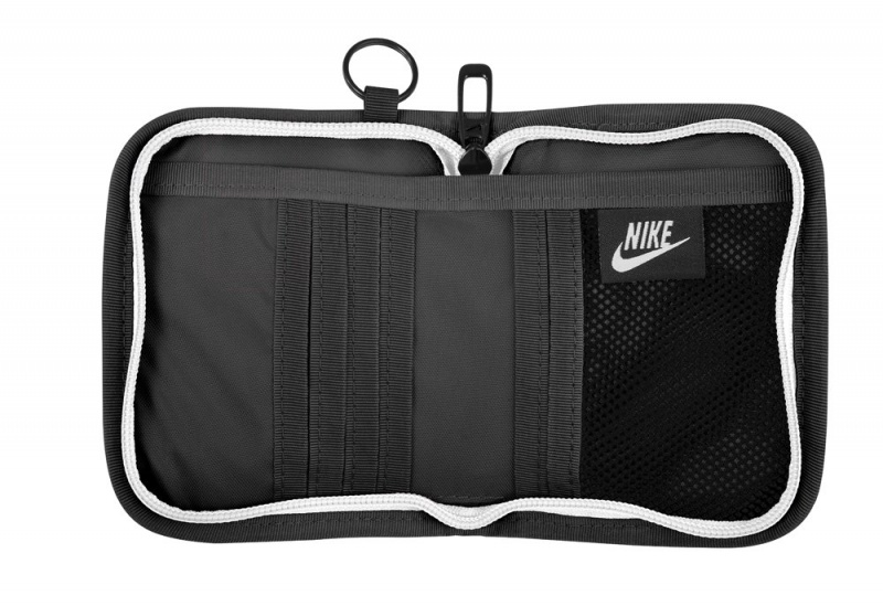 Nike Heritage Small Nylon Zip Around Wallet 銀包 [黑色]