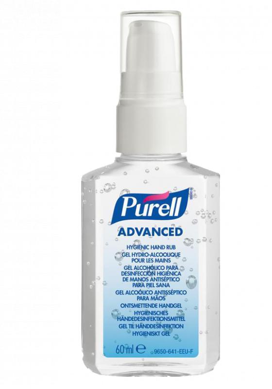Purell 酒精搓手液 60ml (便攜泵裝)