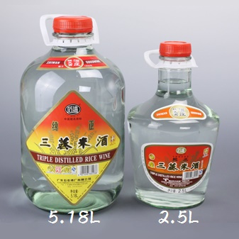 石灣三蒸米酒2.5L $360/箱