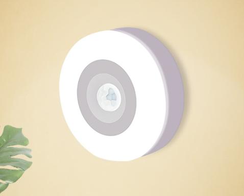LOHAS - 充電式LED人體感應小夜燈 (白光)