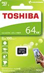 TOSHIBA M203 microSDHC/microSDXC UHS-I卡 100MB 64GB