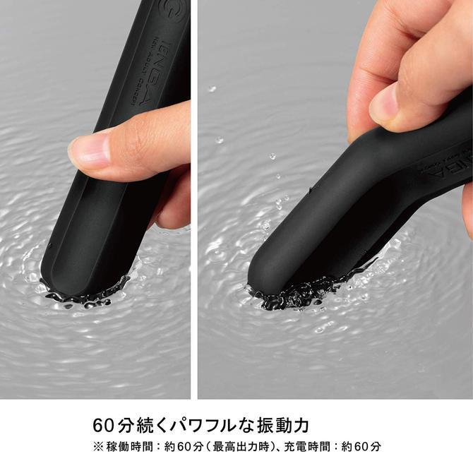 TENGA SVS 防水充電震動棒 黑色