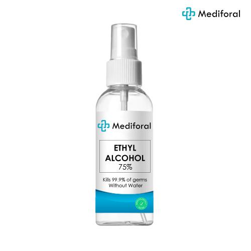 Mediforal 75度酒精消毒液噴霧 60ml