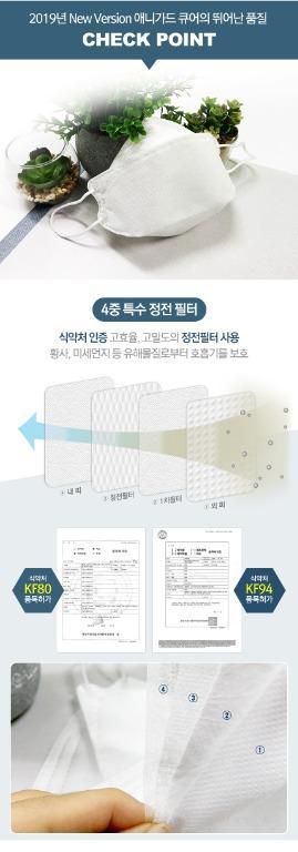 現貨 【韓國製造】【Anyguard 4層過濾KF94口罩🛡】 (N95同等級超強防護) 一盒 30 個