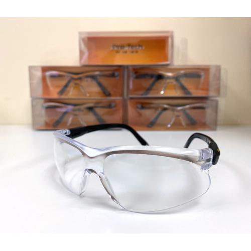 Pro-Tech台灣製防護防飛沫眼鏡(PC防爆鏡片+可調式鏡腳)