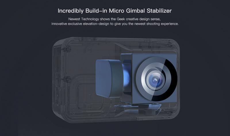 Apeman A85 - 4K Ultra HD Anti-Shake 2-Axis Gimbal Camera