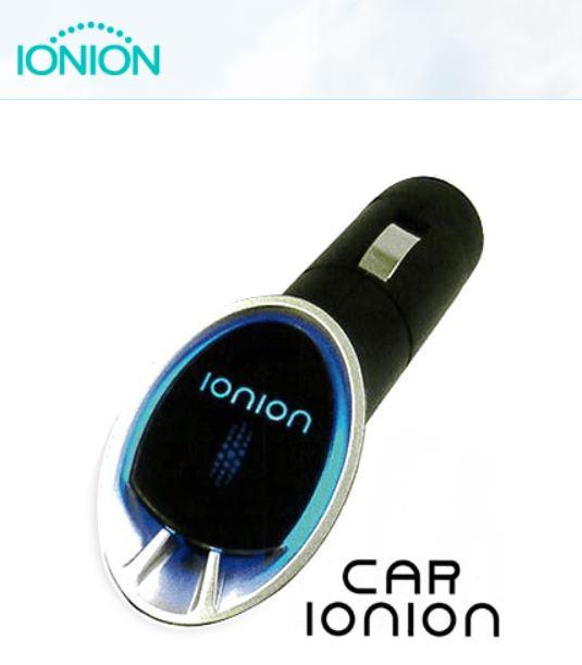 日本製造IONION - Car IONION Air Purifier [車用] 負離子空氣淨化器