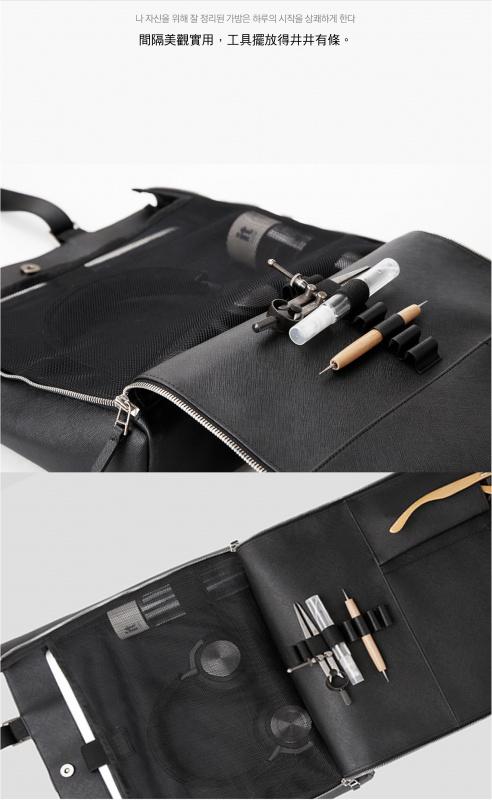 韓國品牌 GIGL 2020 Saffiano Ver Makers T Tote & Cross Bag