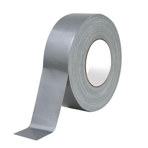 強力手撕布膠帶 - 50米 (黑/銀)