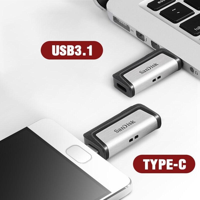 SanDisk Ultra Dual Drive USB Type-C 3.1 256GB 【行貨保養】