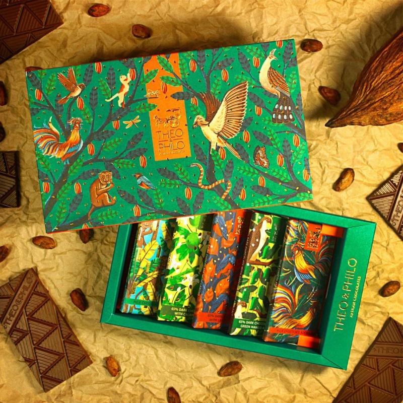 THEO & PHILO CHOCOLATES BOXSET OF 5