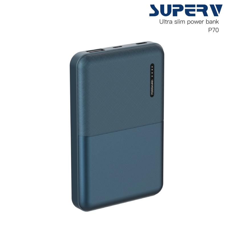 Superv power bank P70 7000mAh 移動電源 [4色]