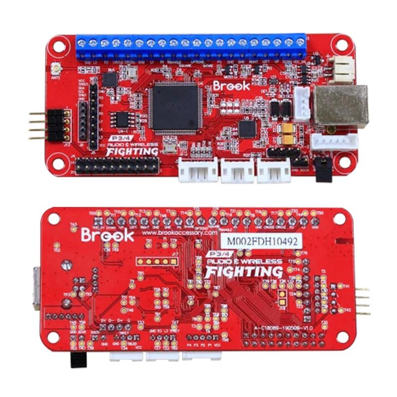 Brook Wireless Fighting Board 無線格鬥板 街機搖桿大手制控制器芯片 支援PS3/PS4/ Nintendo Switch/PC (X-Input)