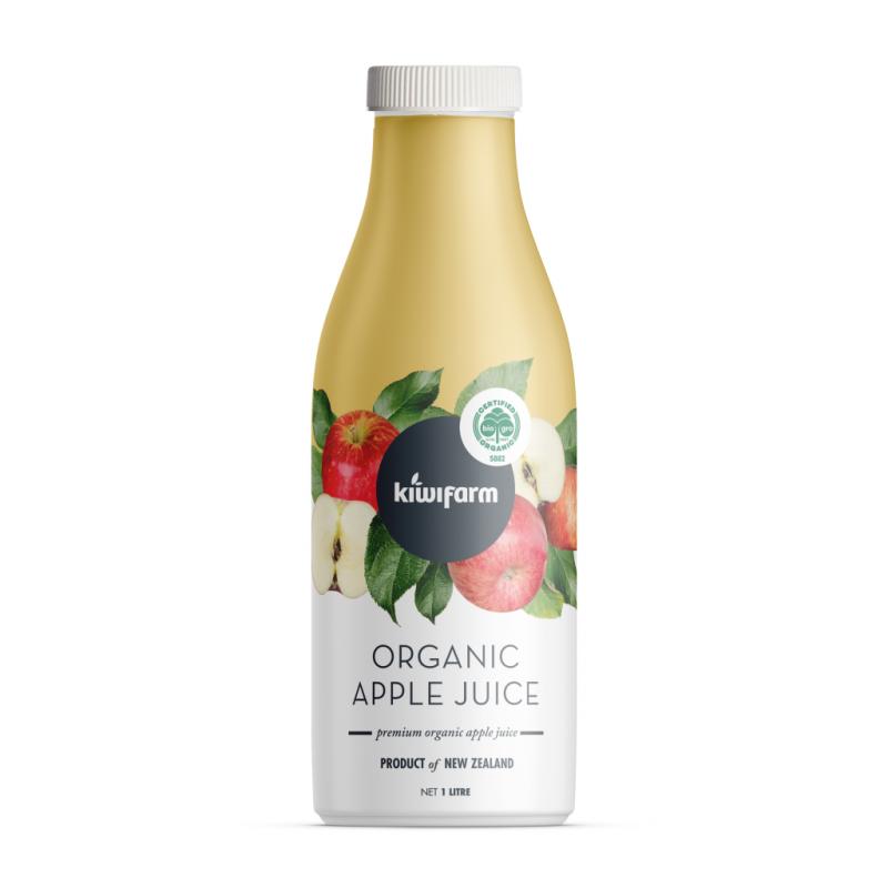 KiwiFarm 紐西蘭有機富士蘋果汁