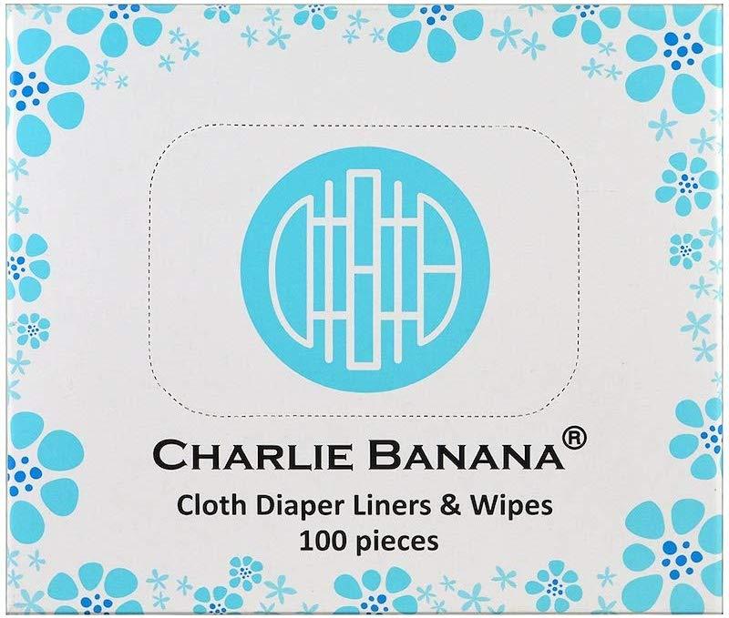 Charlie Banana- 100條裝即棄隔便紙或紙巾