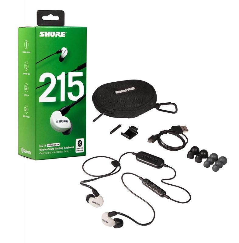 Shure SE215 Wireless 藍牙入耳式隔音耳筒 [4色] [2款]