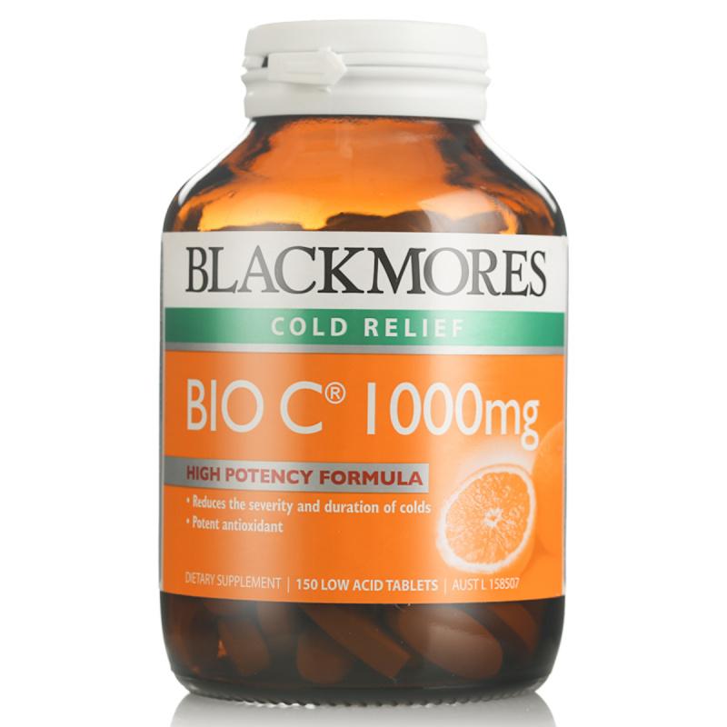 BLACKMORES 澳佳寶 Bio C 1000mg高濃度天然維生素C(150粒)