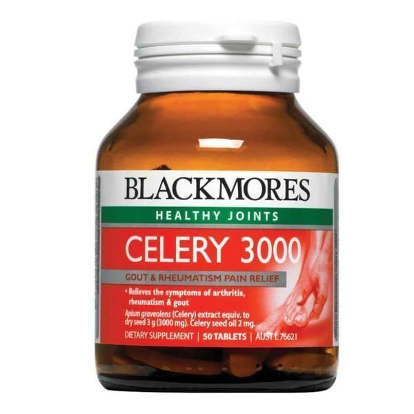 BLACKMORES 澳佳寶 Celery 西芹籽精華 3000 (50粒)