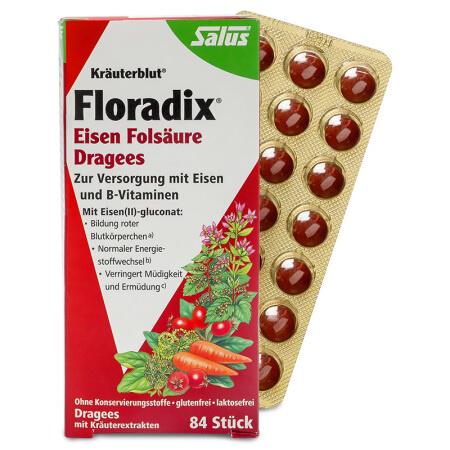 德國 Salus Floradix補鐵錠劑(84片)