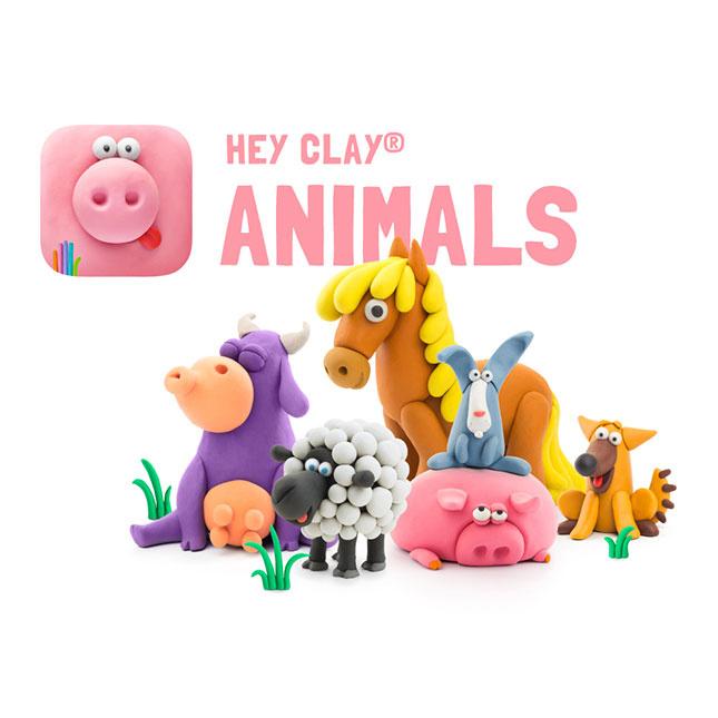 HEY CLAY 彩色兒童造型空氣乾燥黏土