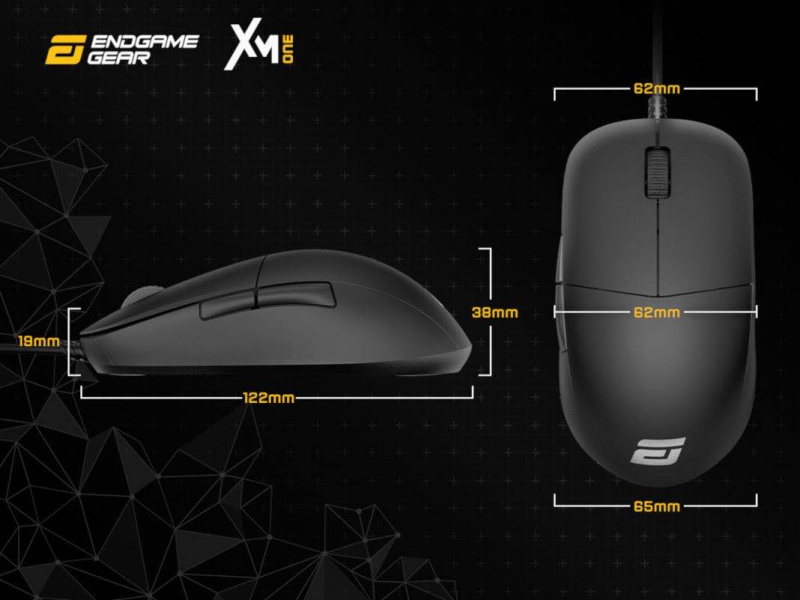 Endgame Gear XM1 電競遊戲滑鼠 吃鸡CSGO滑鼠- 白色