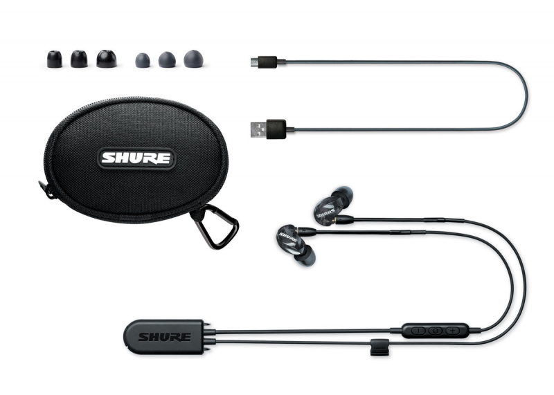 Shure SE215 Wireless Earphone with BT2 專業級無線監聽隔音耳機 [RMCE-BT2 藍牙5.0版]