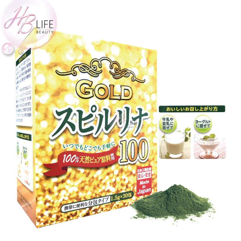 JG Japan Gals 黃金螺旋藻沖劑(排毒)(30包)