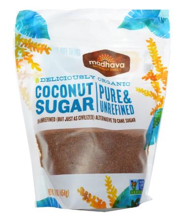Madhava Natural Sweeteners - 有機椰子糖 454g