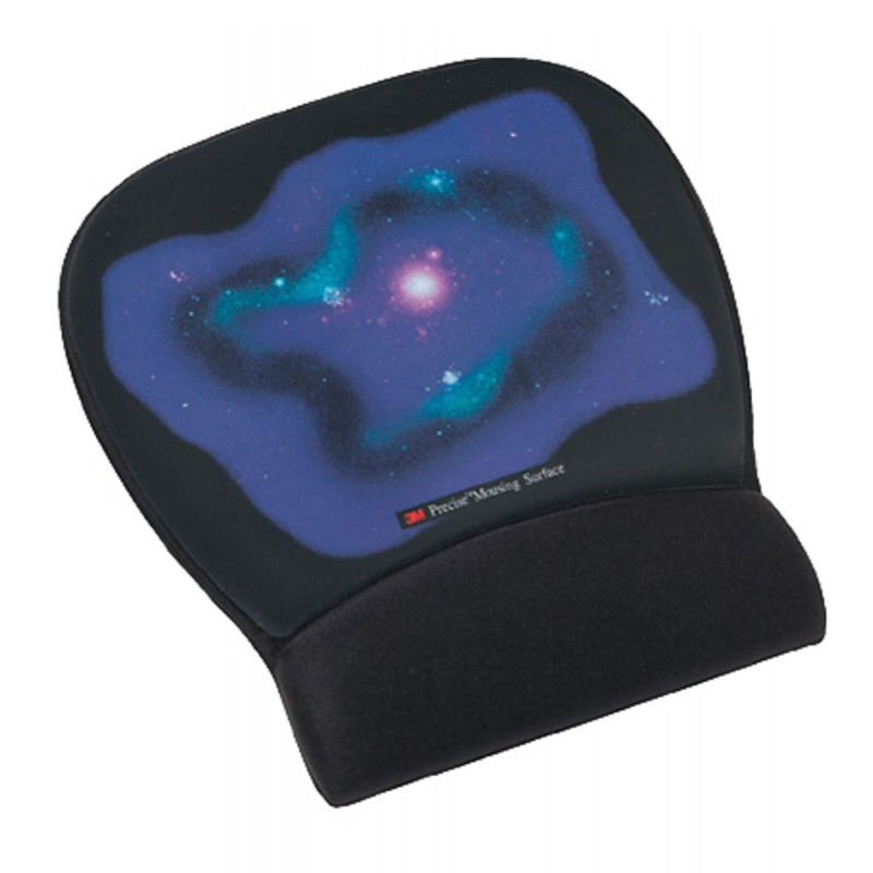 3M MW311BE Precise Mousing Surface with Gel-Filled Wrist Rest, Blue【行貨保養】