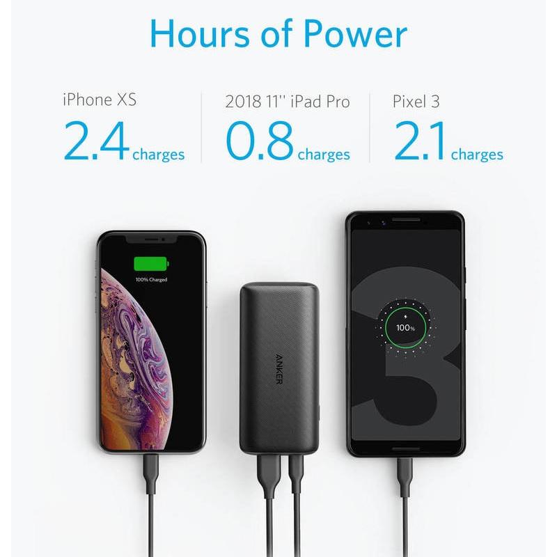 Anker PowerCore PD+ 10000mAh PD+PIQ2.0 雙快充行動電源【行貨保養】