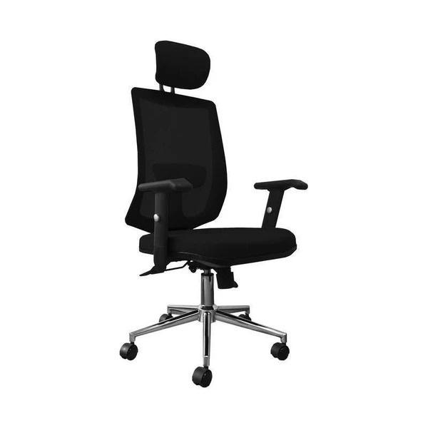 ProWork® D45 辦公椅 電腦椅 電鍍鋼腳 升降扶手 (需自行組裝)