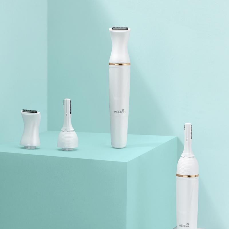 小米 - WellSkins 6合1多功能電動剃毛器 可換頭剃毛器