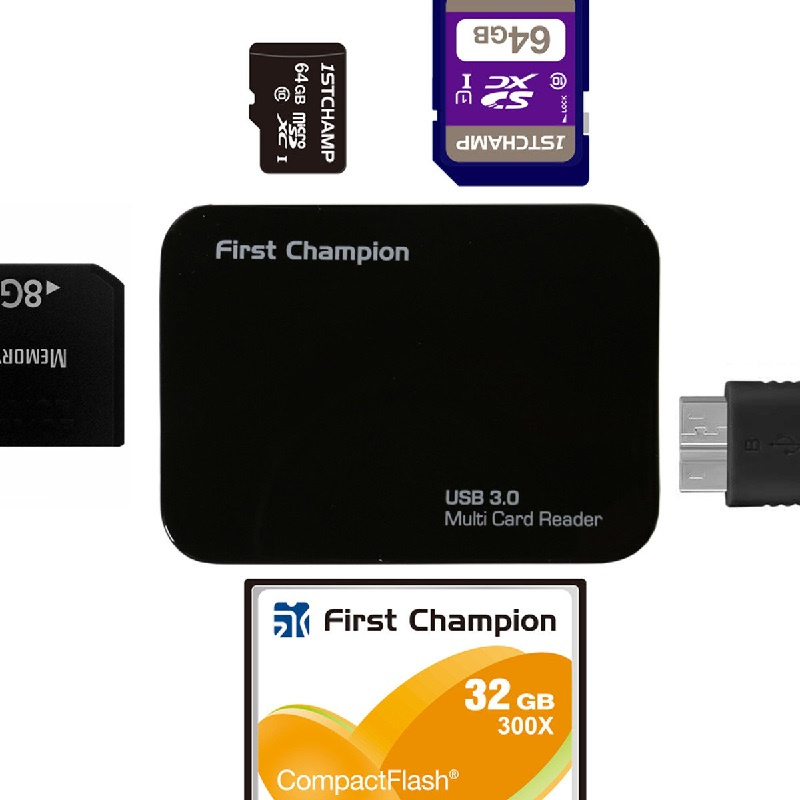 First Champion Multiple Card Reader FC-CR630【行貨保養】