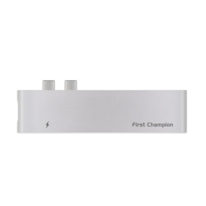 First Champion 7合1 USB-C集線器 (FC-TCH-72C2U3HCR) [2色]