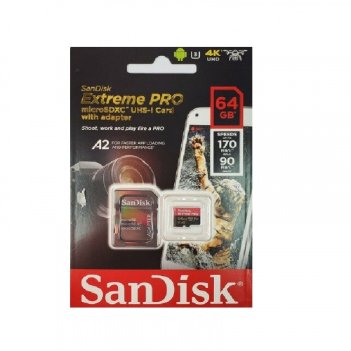 SanDisk Extreme Pro A2 64GB MicroSDXC 【行貨保養】