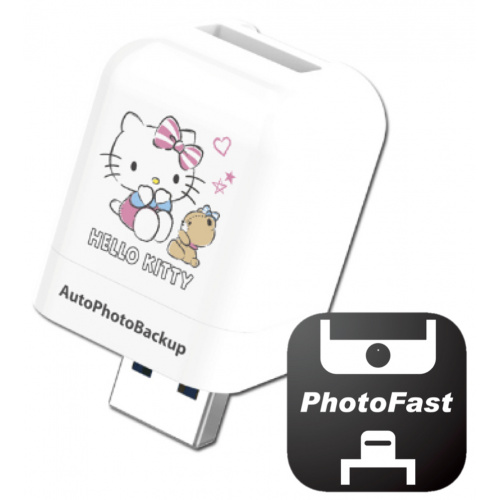 PhotoFast PhotoCube HelloKitty 備份方塊