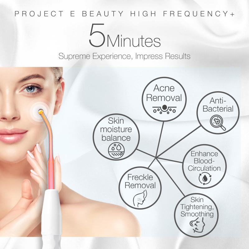 Project E Beauty 紅光電療棒 | 手提紅光抑制暗瘡消炎殺菌去除痘印高頻電療美容儀