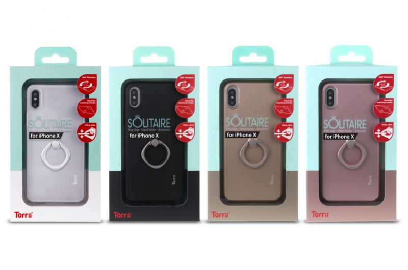 Torrii SOLITAIRE Case For IPhone X/Xs【行貨保養】