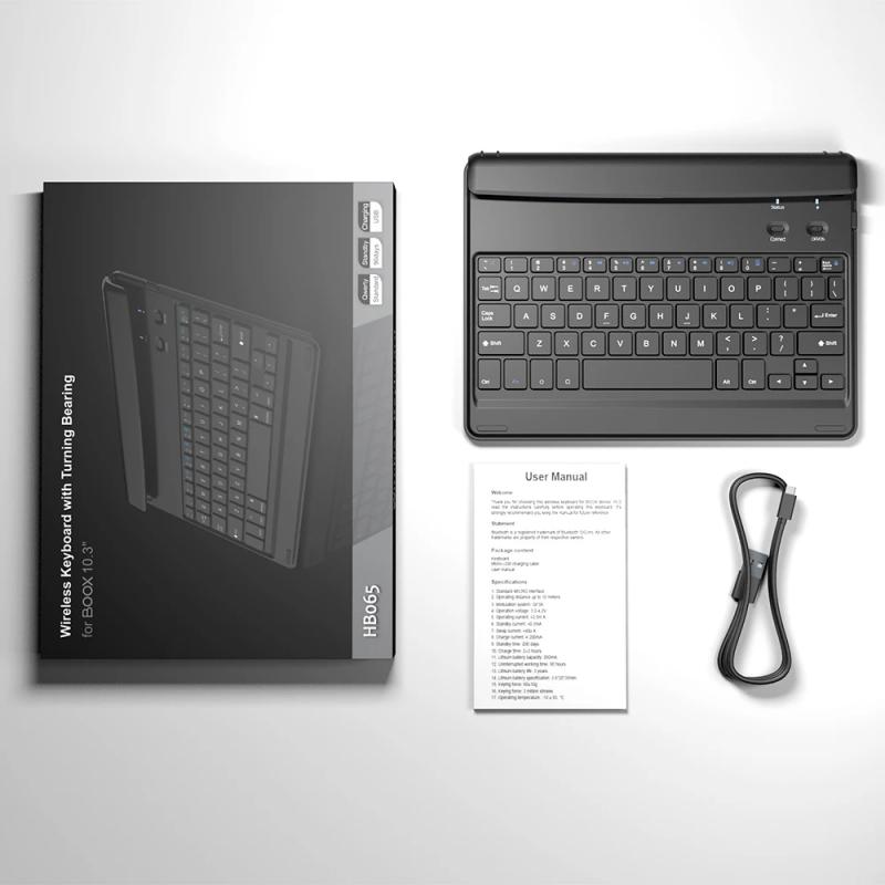 BOOX 原裝藍芽鍵盤 ( 將BOOX電子閱讀器 變【電腦】)