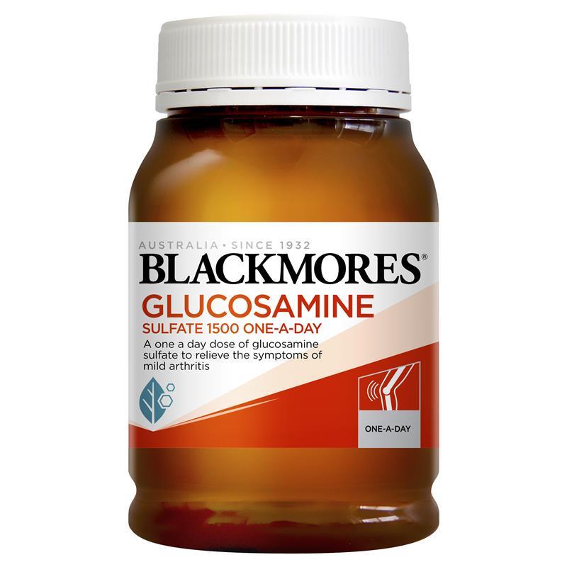 Blackmores 葡萄糖胺1500mg 膝蓋 180粒