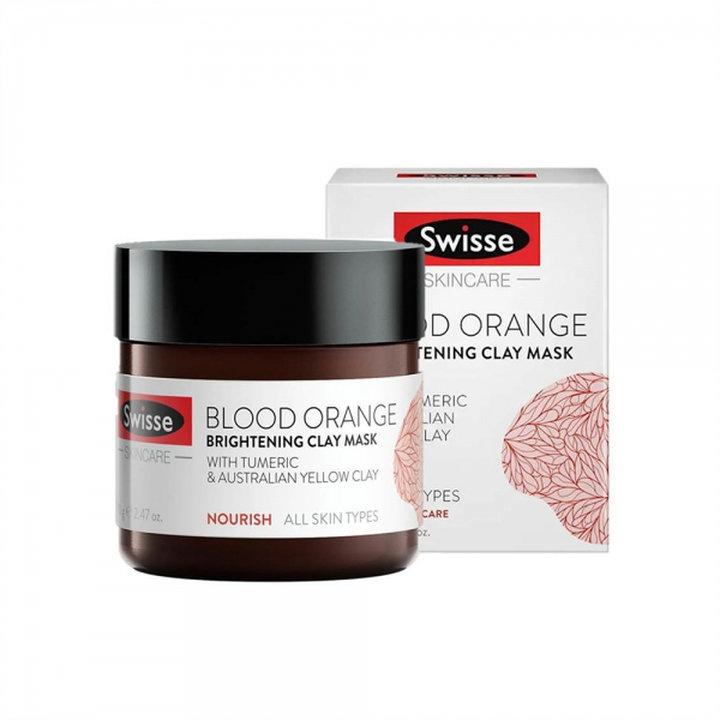 Swisse血橙的礦物泥面膜 70G