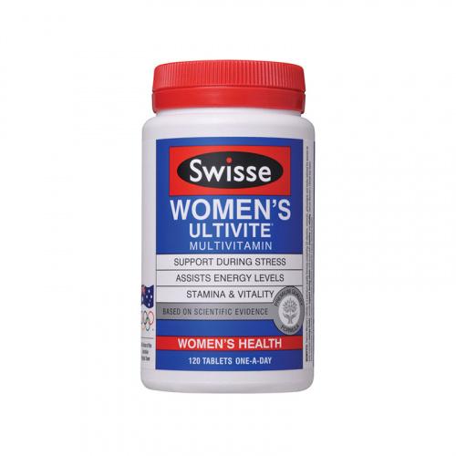 SWISSE 女性多元維他命 120粒