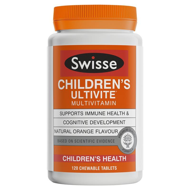 SWISSE 兒童多種維生素咀嚼片 120片